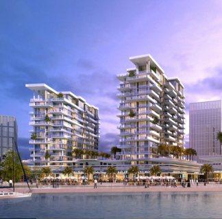 للبيع بالشارقة شقق سكنية بإطلالة بحرية في مدينة الشارقة للواجهات المائية