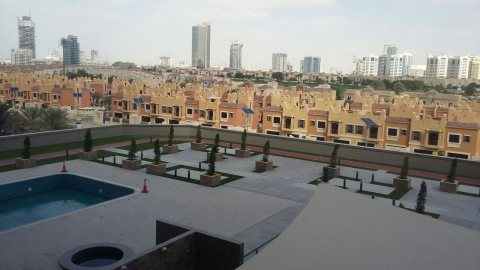 fully furnitured studio for rent in Dubai sport city only 50000 AED