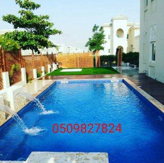شركة احواض سباحة وتنسيق الحدائق في الامارات (امكانية التقسيط)