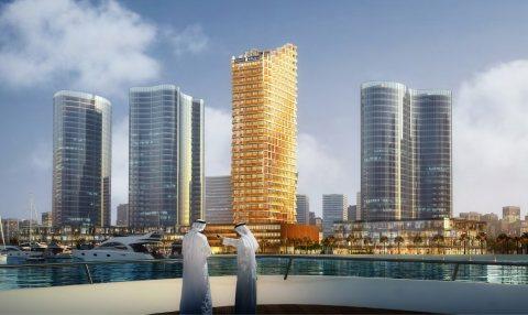 أسكن الى ميعاد التسليم مجانا واشتري شقتك علي قناة دبي المائيةب 700 ألف درهم فقط