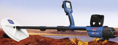 جهاز GPZ 7000 كاشف الذهب الخام الطبيعي والمعادن - شركة بي ار ديتكتورز دبي