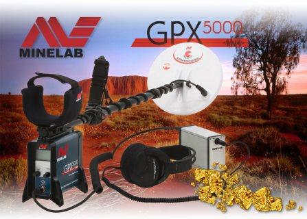 جهاز GPX 5000 لكشف الذهب الخام والفضة وجميع المعادن بأفضل سعر - شركة بي ار دبي
