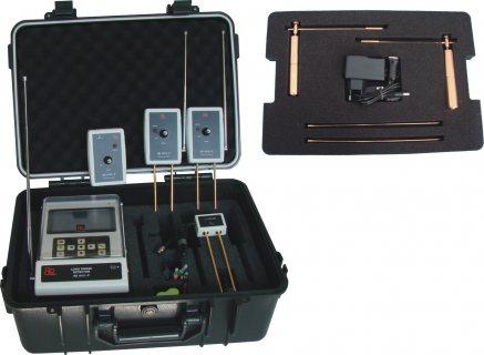 جهاز BR 800 P كاشف الذهب الخام وجميع المعادن لعمق 50 متر والمياة الجوفية 250 متر