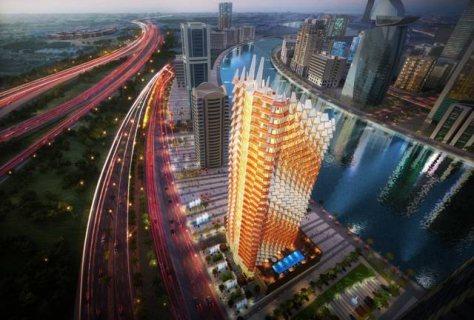 فرصتك الأن أسكن الى ميعادالتسليم مجاناواشتري شقتك علي قناة دبي المائية ب 700 ألف
