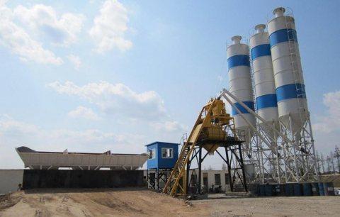 25 م³ / سا محطة خلط الخرسانة