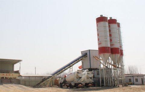 50 م³ / سا محطة خلط الخرسانة