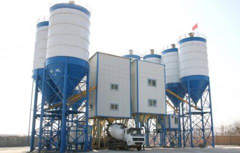 120 م³ / سا محطة خلط الخرسانة