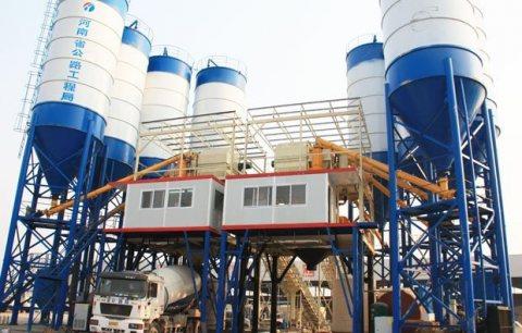 180 م³ / سا محطة خلط الخرسانة