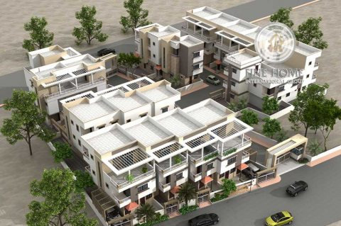 للبيع مجمع 5 فلل 25 غرفة في مدينة شخبوط, أبوظبي.