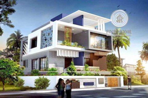 للبيع فيلا 9 غرف اول ساكن في مدينه خليفه