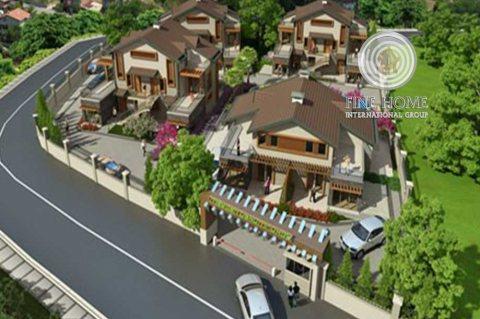 للبيع مجمع 4 فلل بدخل ممتاز في مدينة شخبوط,أبوظبي