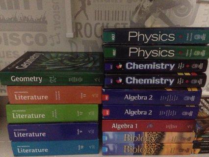 كتب مستعملة للمنهج الامريكي American curriculum books