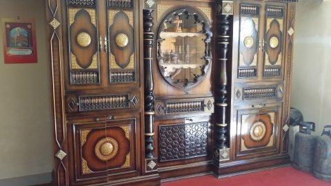 غرفة سفرة عربي بالأرابيسك والصدف