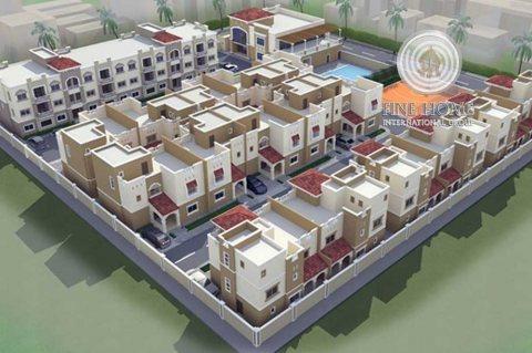 للبيع مجمع 6  فلل في مدينة محمد بن زايد, أبوظبي