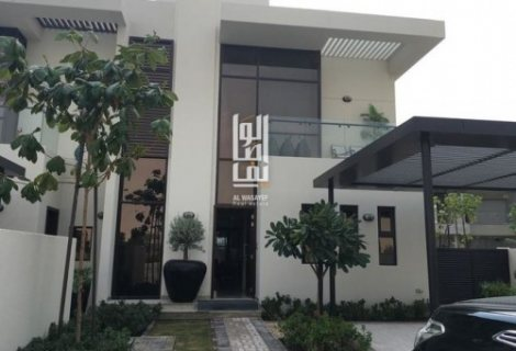 فيلتك في دبي 3 غرف وغرفةخادمةبحي المرابع العربيةجاهزةللتسليم تقسيط مريح