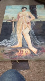لوحات بيكاسو وفان جوخو