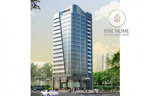 للبيع بناية 9 طوابق تصريح 21 طابق في النادي السياحي ,أبوظبي