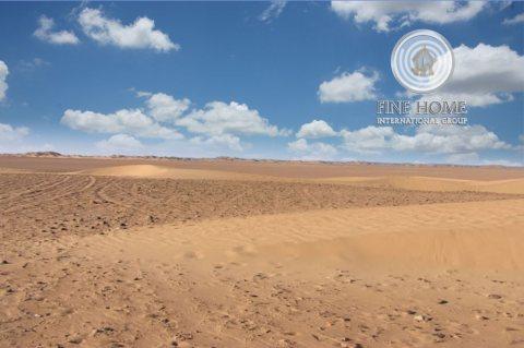للبيع ارض سكينه في مدينه محمد بن زايد