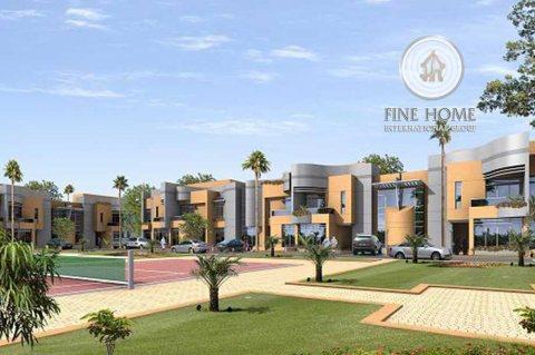 للبيع مجمع 4 فلل بدخل ممتاز في مدينة شخبوط . أبوظبي