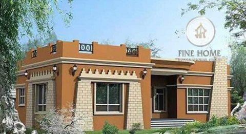 للبيع بيت شعبي على شارعين في المشرف, أبوظبي.