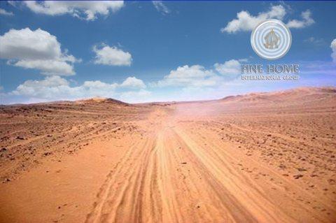 للبيع أرض بمساحة كبيرة بمدينة محمد بن زايد , ابوظبي