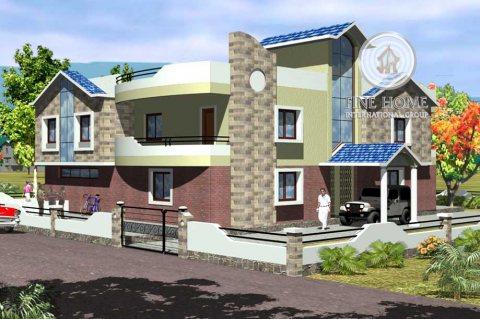 للبيع فيلا 8 غرف شارع رئيسي في مدينة محمد بن زايد
