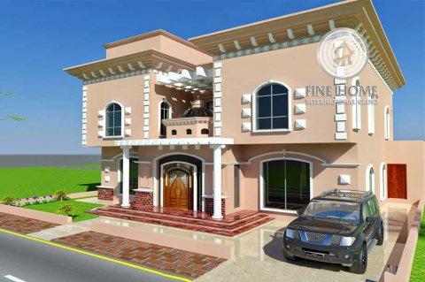 للبيع فيلا 6 غرف فخمه  في مدينه خليفه  . ابوظبي