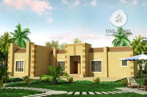 للبيع بيت شعبي 6 غرف على زاوية في الرحبة ,أبوظبي