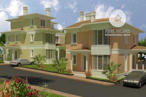 للبيع مجمع فيلتين 10 غرف في مدينة خليفة, أبوظبي