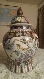 Old antique chinese vase