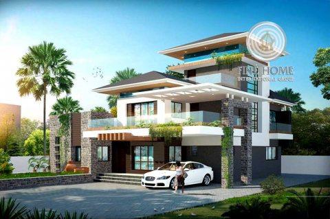 للبيع فيلا 10 غرف + ملاحق في مدينه محمد بن زايد