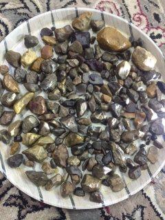 احجار متنوعه خام