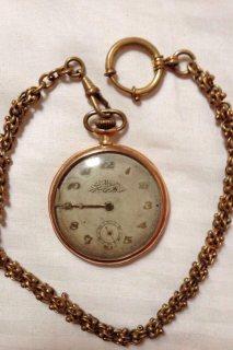 ساعة جيب ذهب هدية من الملك عبد العزيز آل سعود