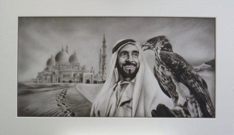 لوحات فنية تراث الامارات