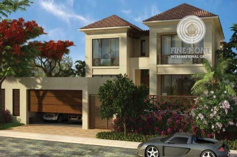 للبيع..فيلا 5 غرف أول ساكن في حد السعديات أبوظبي