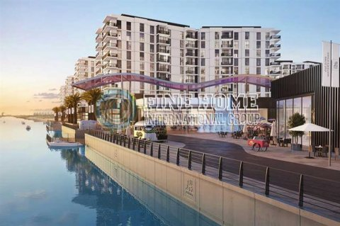 للبيع..شقة 3 غرف تحت الانشاء في وترز ايدج جزيرة ياس أبوظبي