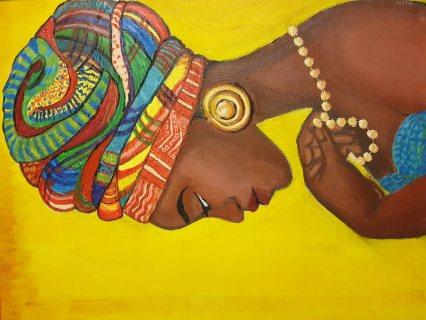 امرأة إفريقية