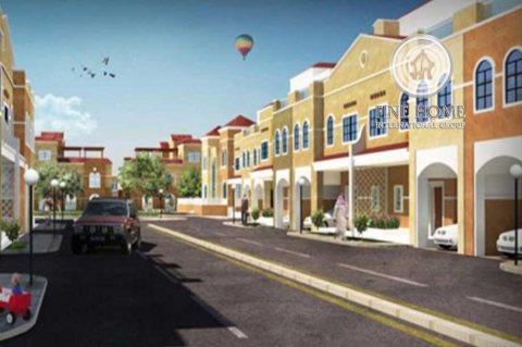 للبيع مجمع 10 فلل يقع علي 3 شوارع في مدينه زايد , الظفرة