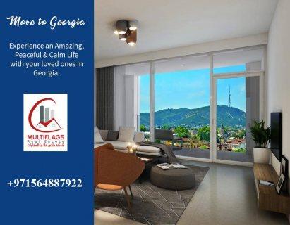 بادر بتملك شقة فندقية إستثمارية بإطلالة الجبال بمقدم 15% فقط