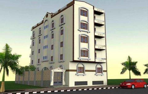 بناية جديدة للبيع سكنى تجارى بمنطقة النعيمية (G+4) زاوية شارعين
