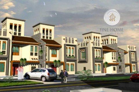 للبيع مجمع 4 فلل رائع في مدينة خليفة ,أبوظبي