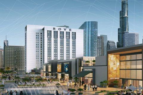 اطلاق اجدد مشروعات سيتي واك غرف فندقية استثمارية بفندق روف