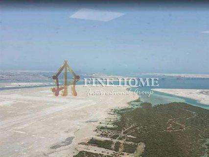 للبيع أرض سكنية  تصريح بناء برج 12 طابق في جزيرة الريم