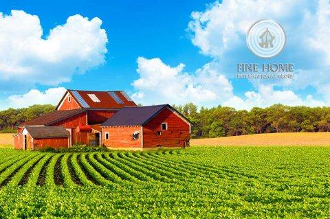 للبيع..مزرعة بمساحة كبيرة في منطقة ليوا المنطقة الغربية أبوظبي
