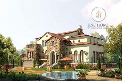 للبيع..فيلا 9 غرف ماستر فخمة في مدينة خليفة أبوظبي