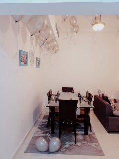 للايجار بالشارقة القاسمية شقة مفروشة غرفتين وصالة