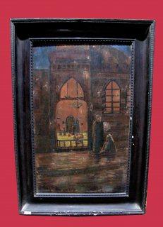 لوحه مستشرق قديمه من اكثر من 100 عام