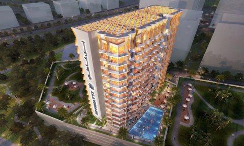 تملك شقة غرفة و صالة فى الجداف بسعر 700 ألف درهم