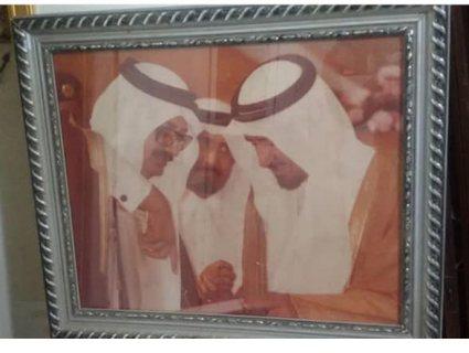 صوره فتوغرافيه قديمه للملك فهد والامراء