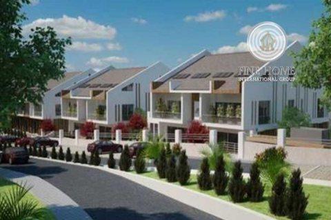 للبيع مجمع فيلتين جديد في منطقة البطين . ابوظبي